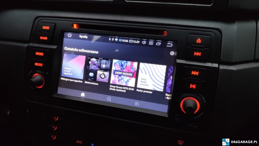 bmw e46 radio android-isudar recenzja MCU MTCE DSP EQUALIZER google play youtube spotify