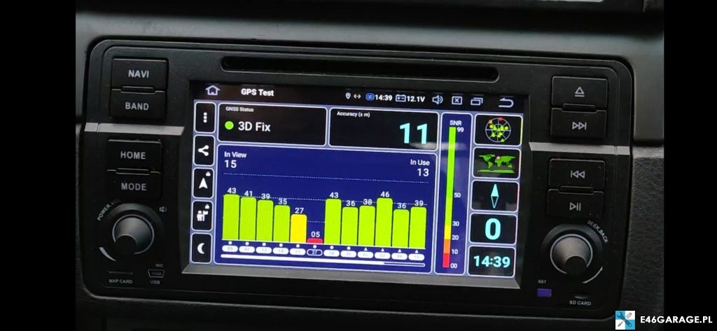 bmw e46 radio android-isudar recenzja MCU MTCE DSP EQUALIZER google play youtube spotify yanosik google maps google chrome israel igo