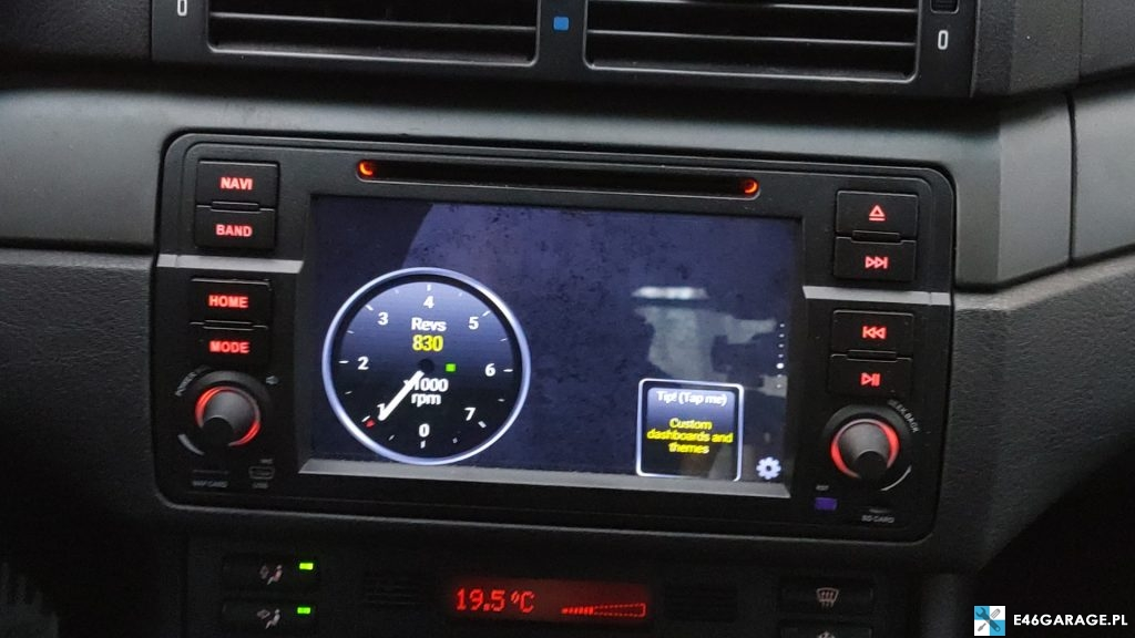 bmw e46 radio android-isudar recenzja MCU MTCE DSP EQUALIZER google play youtube spotify yanosik google maps google chrome israel igo torque carly i-bus